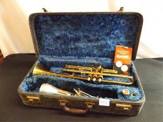 Buescher Trumpet in Case