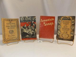 1928  1933  1935  1942   Song Books  4