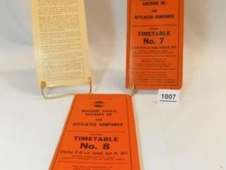 1960 s  1970 s Train Timetables  3