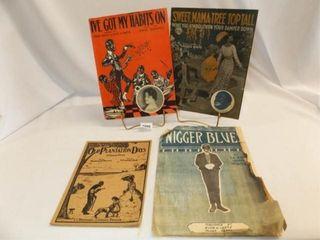1921  1918  1916  1920 Black Americana Music  4