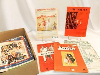 Musical  Movie Music   Books  Sheet Music  25
