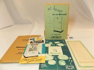 1949 Servel Refrigerator Manual