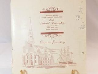 1965 Rural letter Carrier Convention Booklet