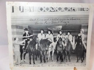 1939 World s Fair Scout Riders Photo