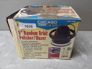 9 Inch Random Orbit Polisher Waxer