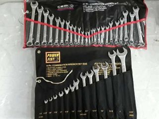 Power Fist 14 Pc Combination Wrench Set   Grip 24