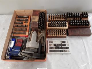Box Of Assorted Stamps 3 16  3 8  1 16  3 32