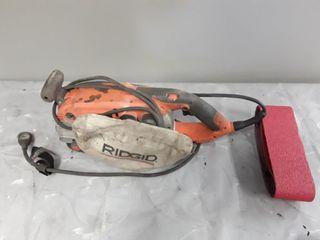 Ridgid R2720 Belt Sander Tested Works