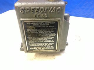 Vac Pump   Compressor Speed Ivac Air Driven
