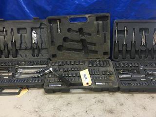 3 Partial Socket Sets