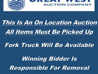 This Is An On location Auction