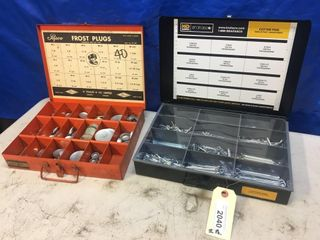 2 Containers  Frost Plugs   Cotter Pins
