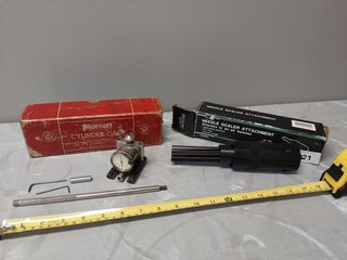 Starrett Cylinder Gage And Power Fist Needle