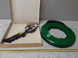 Greenlee Steel Fish Tape And A Hundred Foot