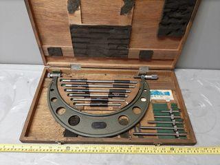 6  12  Mitutoyo Micrometer