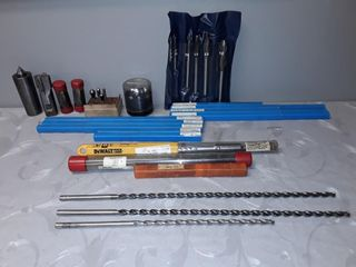 Quantity Of Assorted length Worm Pattern Drill