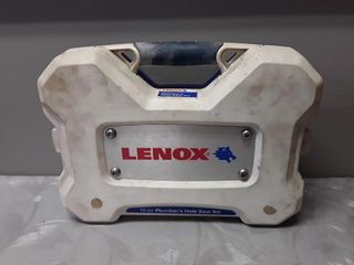 10 Pc lenox Hole Saw Kit Not Complete