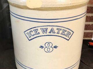 8 Ice Water Crock
