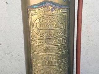 Quickaid Copper Fire Extinguisher