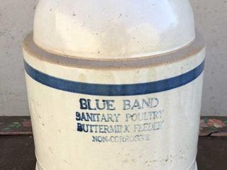 Blue Band Poultry Feeder