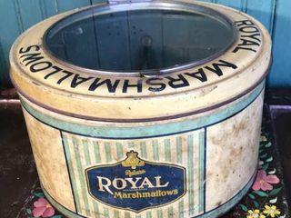 Royal Marshmallows Tin