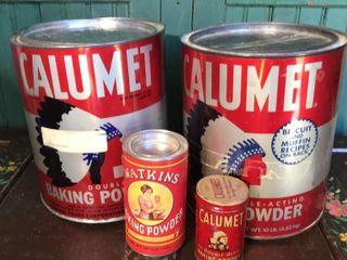 Watkins  Calumet Baking Powder