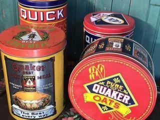 Quaker Cornmeal and Oats