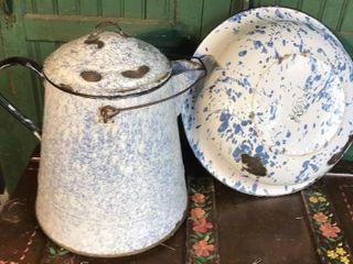 large Cowboy Coffee Pot and Wash Pan