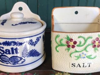 2  Salt Jars