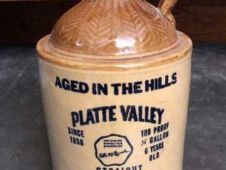 Platte Valley McCormick Whiskey Bottle