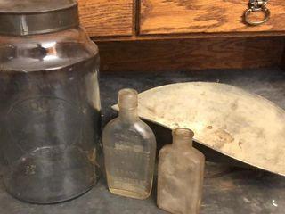 licorice  Turpentine  and Scale Bin