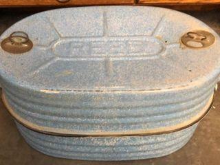 Reed Blue Enamel Roaster