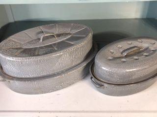 2  Graniteware Roasters