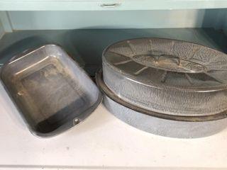 Graniteware Baking Pan and Roaster