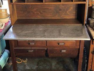 Antique Baking Cabinet