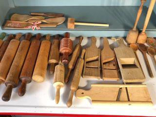 Vintage Wooden Kitchen Utensils