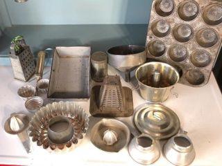 Tin Kitchenware