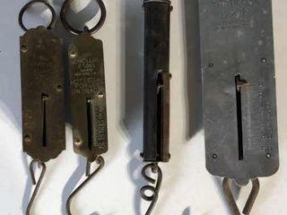 4  Vintage Scales