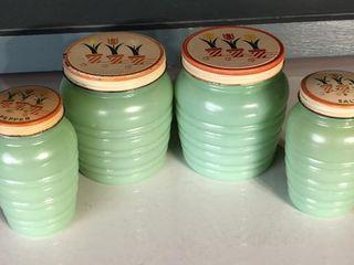 Depression Era Kitchen Jars