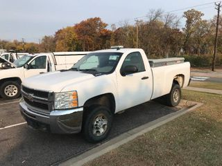 2008 CHEVY SILVERADO 2500 PICKUP - 6.0 LITER VORTEC - WEATHER GUARD TOOL BOXES - AIR WORKS - NICE TRUCK (#1411)