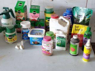 Fertilizers  Soil Amendments and Hand Sprayers