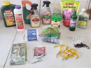 Garden Products  Fabric Staples  and Hooks