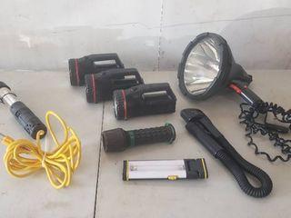 Coleman 12V Mega light  Coleman   Other Flashlights and Droplight   most work   some need batteries