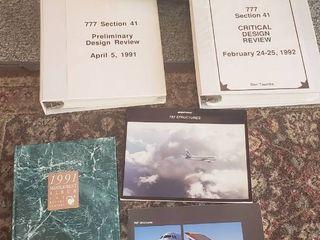 Boeing Manuals and Memorabilia