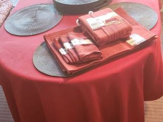 Patio Table Accessories   Table linens and Placemats