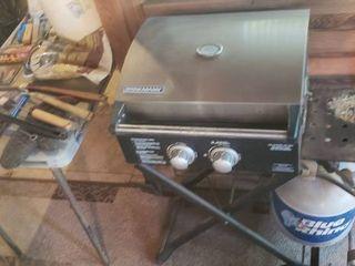 Brinkman Roadmaster X   2 Burner Portable Grilling System w  Grilling Accessories