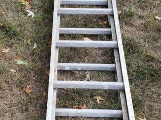 Aluminum Extension ladder   16 ft  Extension