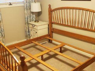 Tom Seely Furniture Oak King Size Bed Frame