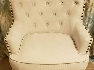 Alton Furniture Group Occasional Chair w Nail Head Accent   30 x 28 x 37 in    Seat  20 in