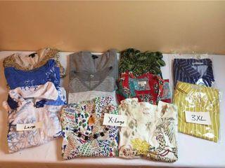 Womens Shorts   Jackets   Size l  Xl  3Xl